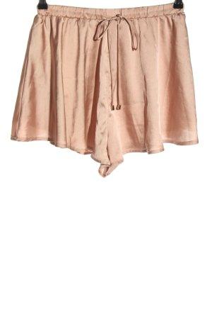 sabo luxe Pantalón corto de talle alto rosa look casual