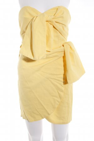 sabo luxe Minikleid gelb Party-Look