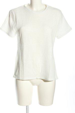sabo luxe Camiseta blanco look casual