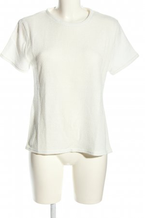 sabo luxe T-Shirt weiß Casual-Look
