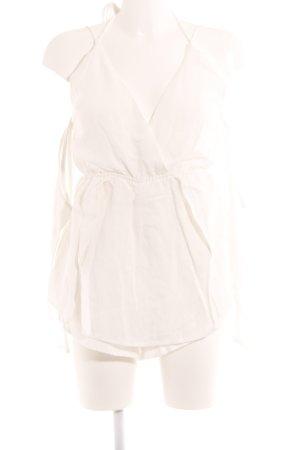 Sabo Skirt Jumpsuit weiß Metallelemente