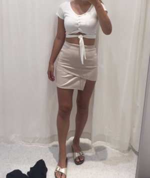 Sabo skirt, Rock im wild Leder  Look