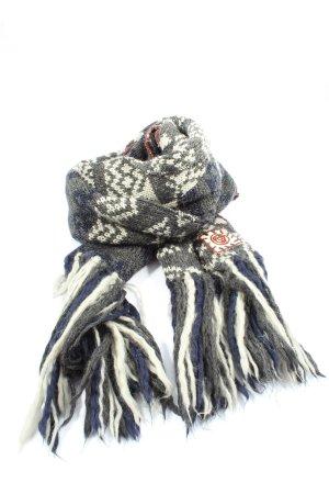 Sabotage Bufanda de lana estampado gráfico look casual