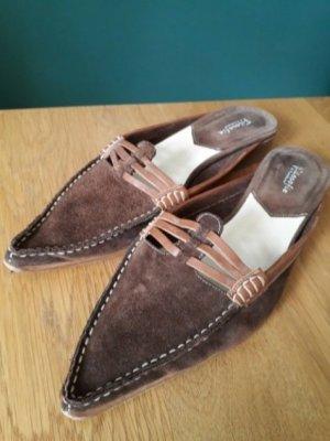 Filosophie Sabots light brown-brown leather