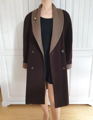 Saccardi True Vintage Kaschmir Mantel Jacke Oversize Winter Trenchcoat Strickjacke Cardigan Pullover Pulli Blazer Parka