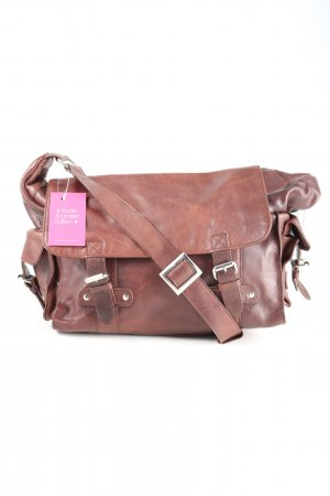 Saccoo Briefcase brown casual look