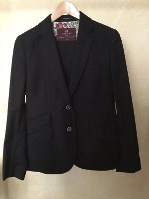 Saccoor Brothers Anzug schwarz