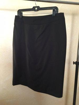 Falda de lana negro