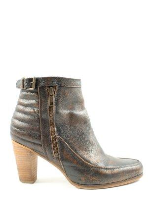 Sacha Ankle Boots braun Farbverlauf extravaganter Stil