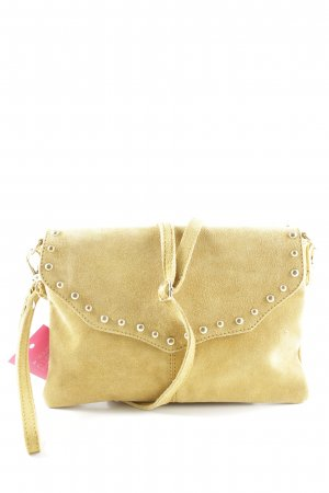 Sacha Clutch blassgelb Casual-Look