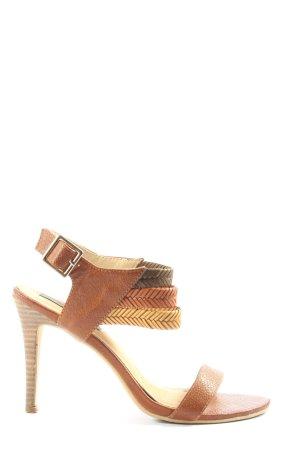 Sacha High Heel Sandaletten braun Casual-Look