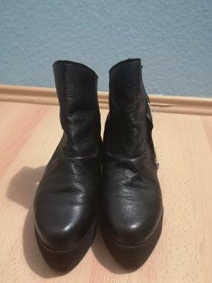 Sacha Botas de tobillo negro Cuero