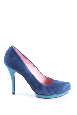 Sacha Plateau-Pumps blau Casual-Look