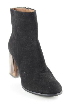 Sacha Reißverschluss-Stiefeletten schwarz Street-Fashion-Look