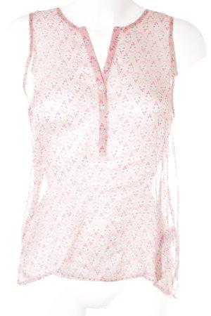 Sack's Blusa senza maniche stampa integrale elegante