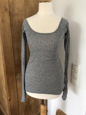 Sack's Longsleeve light grey-grey cotton