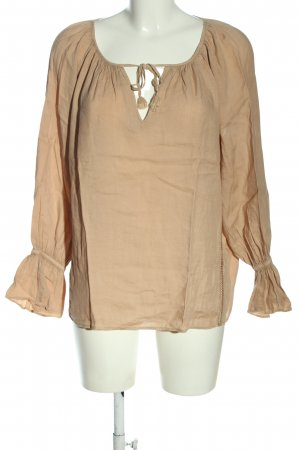 Sack's Shirt Blouse nude casual look