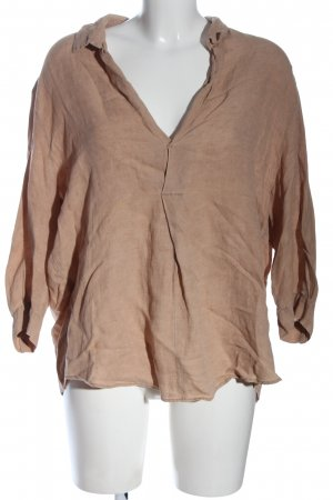 Sack's Slip-over Blouse brown casual look