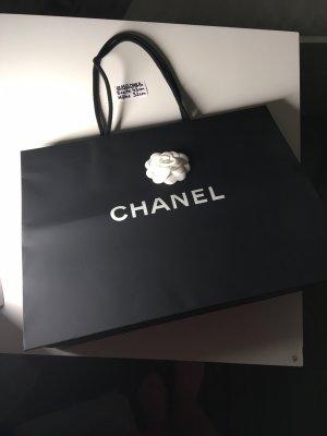 Chanel Sac seau noir-blanc