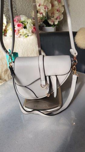 Saddle Bag Tasche NEU mit Etikett grau 2 Schultergurte