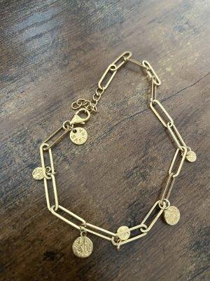 SAFIRA Bracelet en or doré