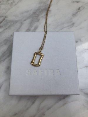 SAFIRA Złoty łańcuch złoto