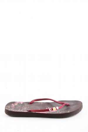 SaHara Flip Flop Sandalen pink Casual-Look