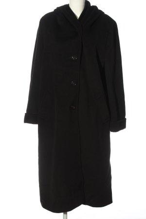 Saint Jacques Hooded Coat black casual look