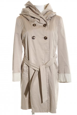 Saint Jacques Cappotto con cappuccio bianco sporco stile professionale