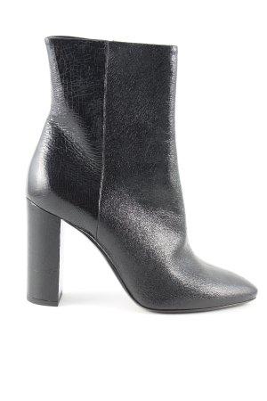 Saint Laurent Ankle Boots schwarz Elegant