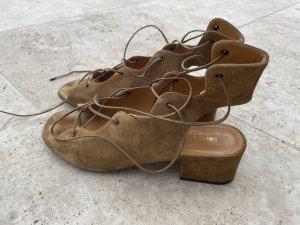 Saint Laurent Babies suede Gladiator Sandale
