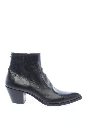 """Saint Laurent Booties """"Finn 60 Aged Boots"""" schwarz"""