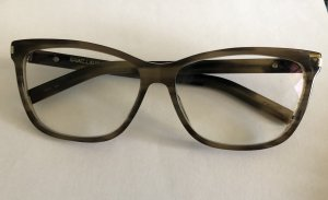 Saint Laurent Gafas marrón grisáceo