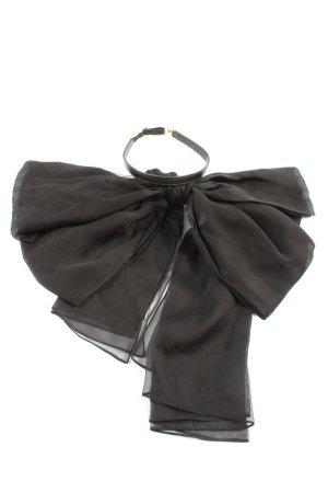 Saint Laurent Colliers ras du cou noir élégant