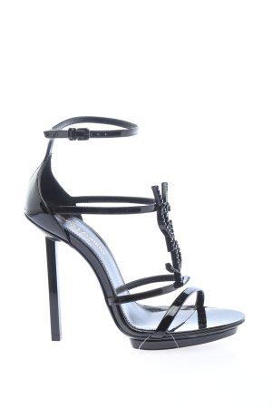 "Saint Laurent High Heel Sandaletten ""Cassandra Sandals"" schwarz"