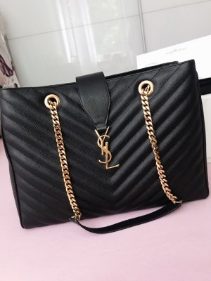 Saint Laurent Monogram Ledertasche