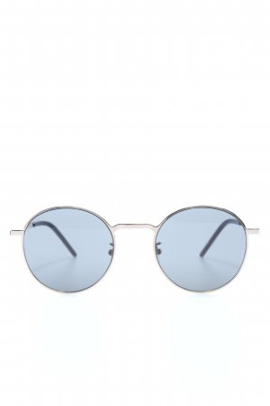 Saint Laurent ovale Sonnenbrille blau Casual-Look