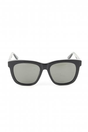 Saint Laurent Panto Brille schwarz Business-Look