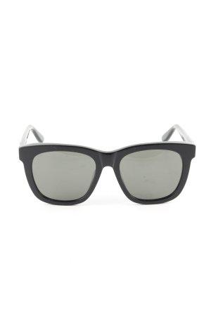 Saint Laurent Panto bril zwart zakelijke stijl
