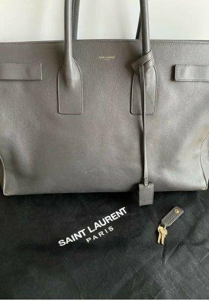 Saint Laurent Sac de Jour Tasche Grau Large NP2500 Euro