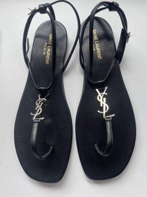 Saint Laurent Sandales Dianette noir