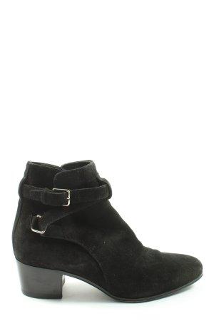 Saint Laurent Slip-on Booties black business style