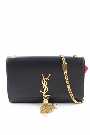 Saint Laurent Schultertasche schwarz Business-Look