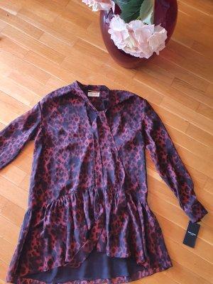 Saint Laurent Robe courte noir-violet