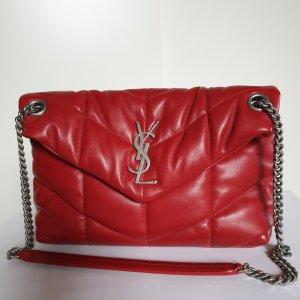 Saint Laurent Sac porté épaule rouge