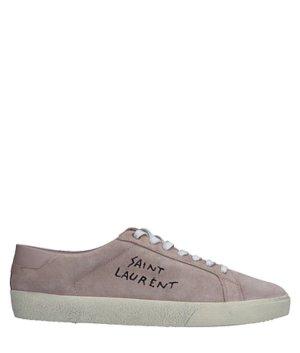 Saint Laurent Lace-Up Sneaker rose-gold-coloured