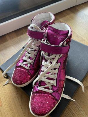 Saint Laurent Sneaker Pink Glitzer