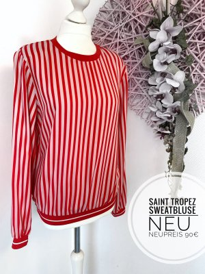 Saint Tropez Crewneck Sweater red-pink
