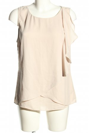 Saint Tropez ärmellose Bluse creme Business-Look