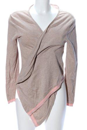 Saint Tropez Cardigan braun-pink meliert Casual-Look